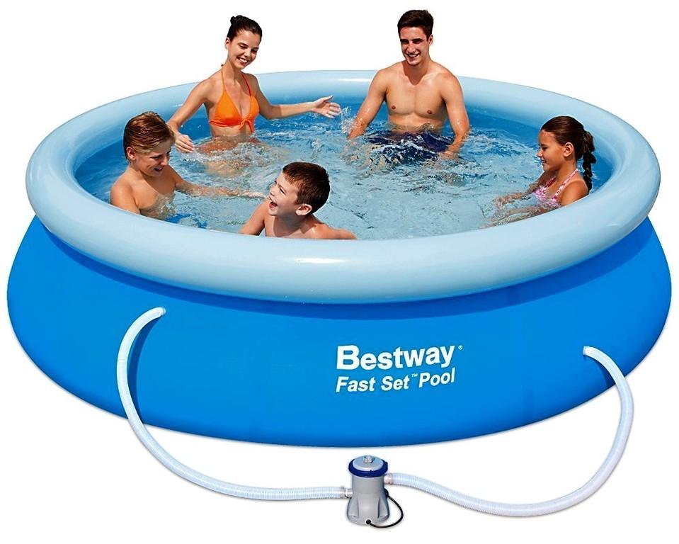 Bestway 57270 Bazén Fast Set+kartušová filtrácia 305x76cm