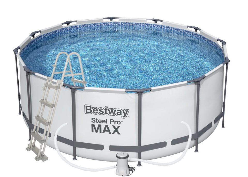 Bestway 56420 Okrúhly nadzemný bazén z ocele Pro MAX 366x122cm