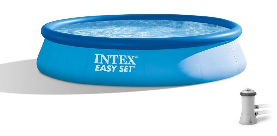 Intex 28142 Bazén Easy Set s kartušovou filtráciou 396x84cm