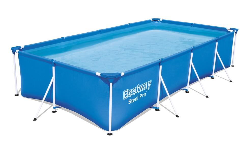 Bestway 56424 Bazén s konštrukciou + čerpadlo 400cmX211cmX81cm