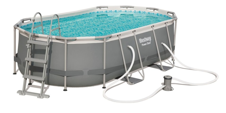 Bestway 56620 Bazén Steel Frame Pool 424x250x100cm
