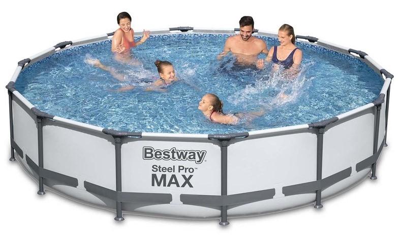 Bestway 56488 7v1 bazén s konštrukciou, 457x107cm