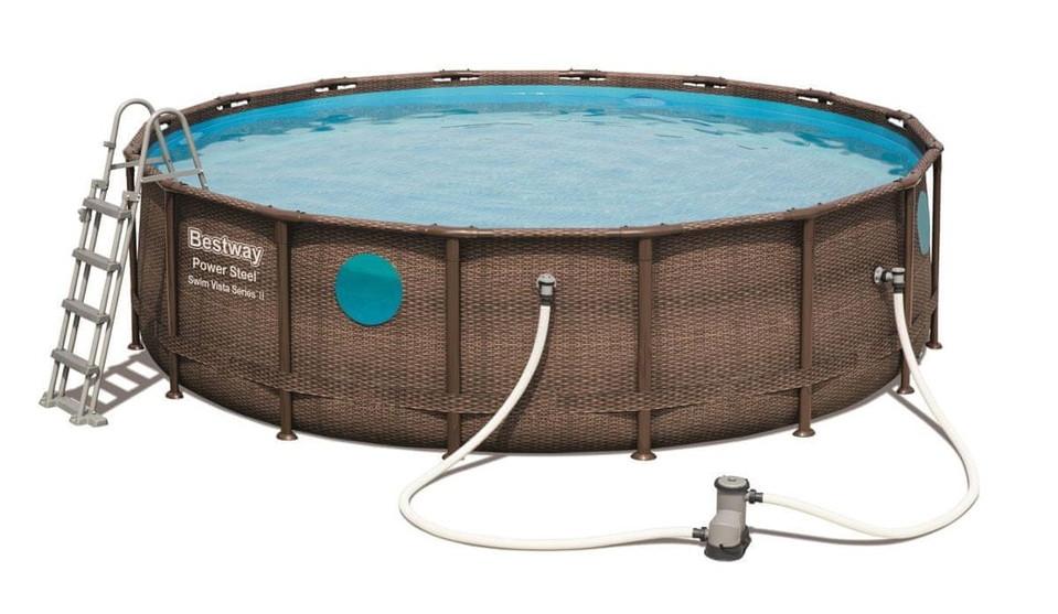 Bestway 56725 Bazén Rattan Swim Vista 488x122cm