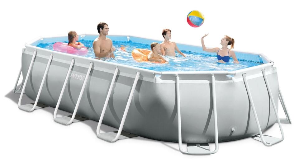 Intex Záhradný bazén 26796 Prism Frame Oval 503 x 274 x 122 cm kartušová filtrácia