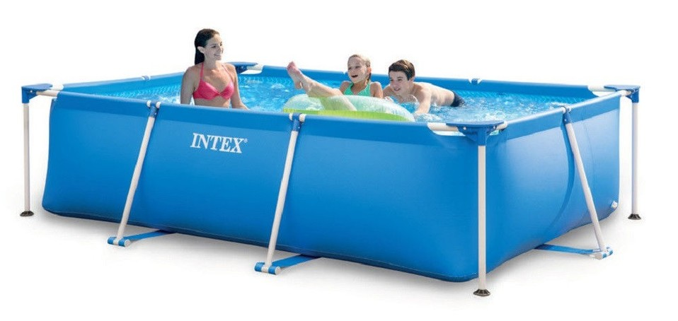 Intex 28272 Bazén Rectangular Frame Pool 300x200x75cm