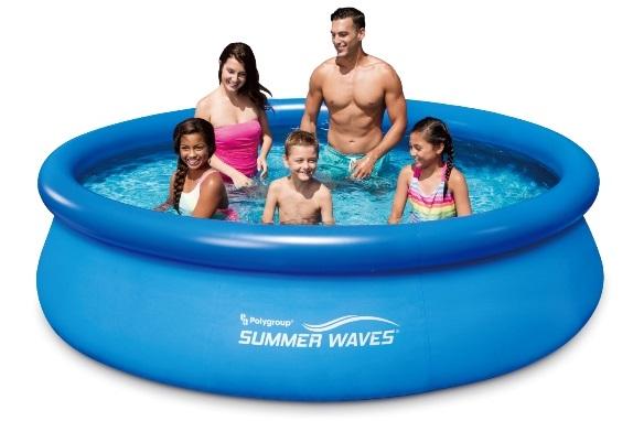 Polygroup samonosný bazén 305x76cm