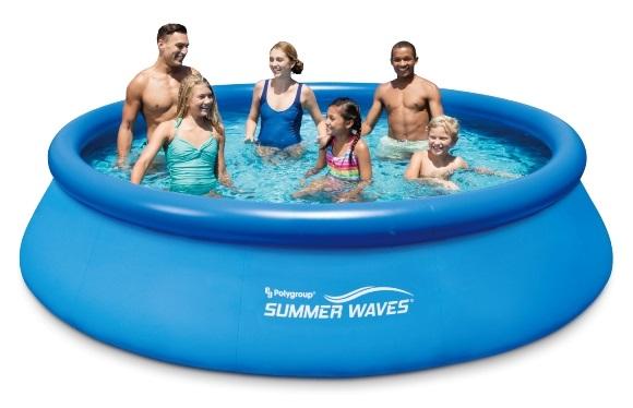 Polygroup samonosný bazén 366x76cm