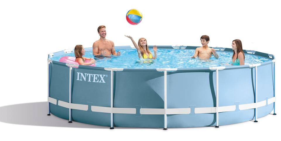 Bazén 549x122cm INTEX Prism Frame 28752 set 6v1