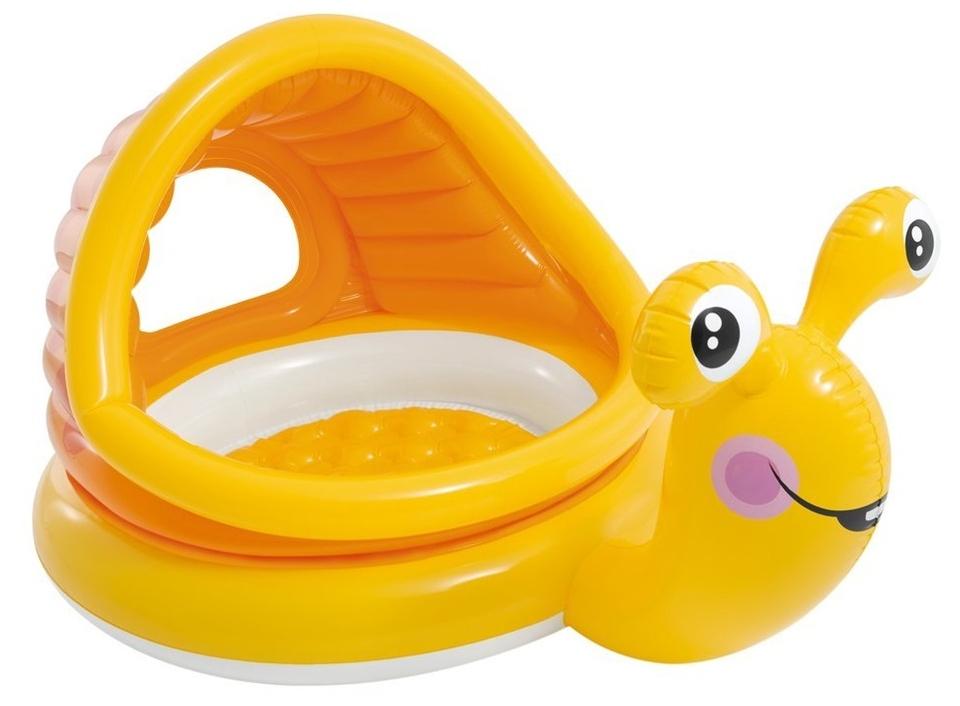 INTEX 57124 Detský bazén slimák 74cm