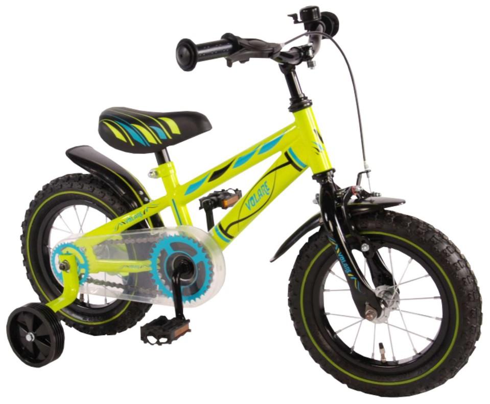 """Detský bicykel Electric Green 12"""" zelený"""