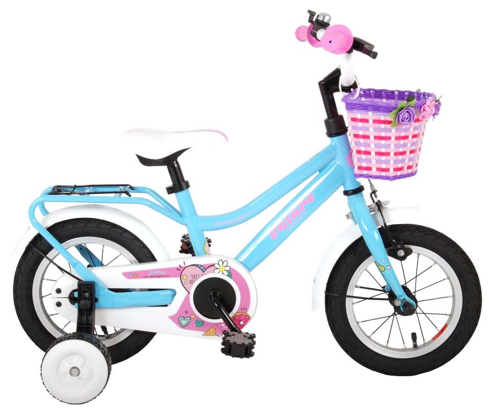 "Detský bicykel Brilliant Girls Blue 12"""
