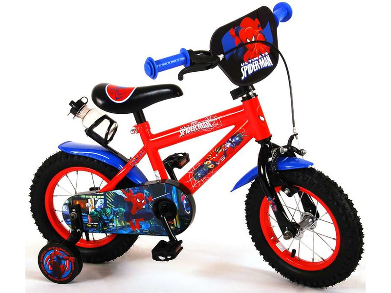 """Detský bicykel Spider-Man červený 12"""""""