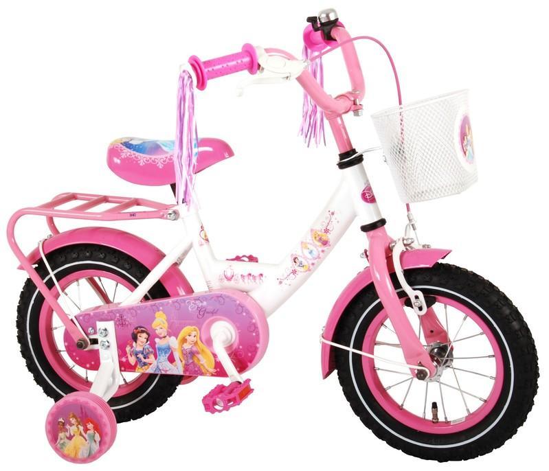 "Detský bicykel Princess biely 12"""