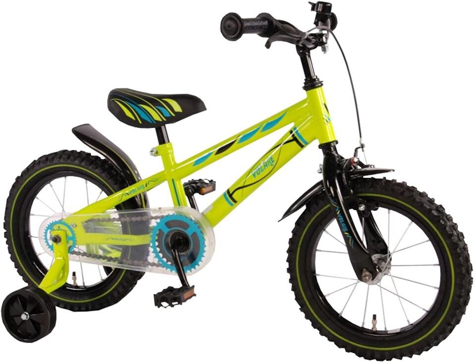 """Detský bicykel Zelený 14"""""""