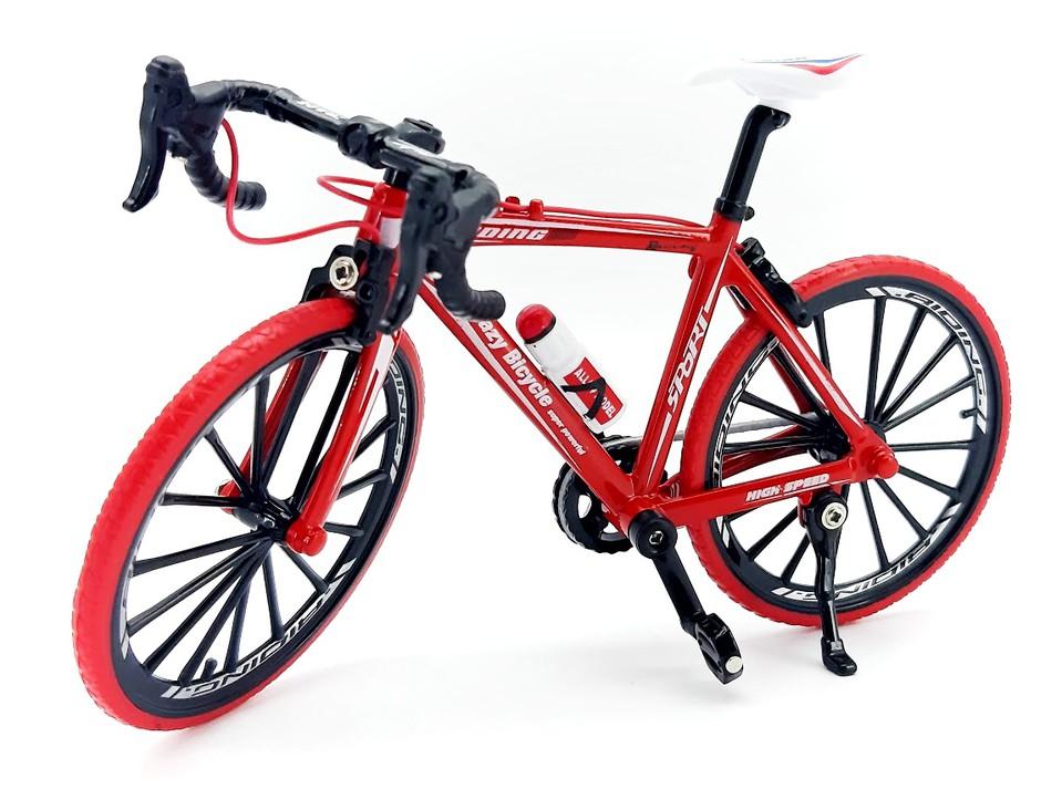 Športový bicykel 1:10 - čierna