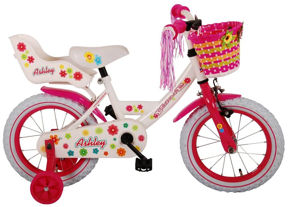 """Bicykel Ashley 14"""" biely"""