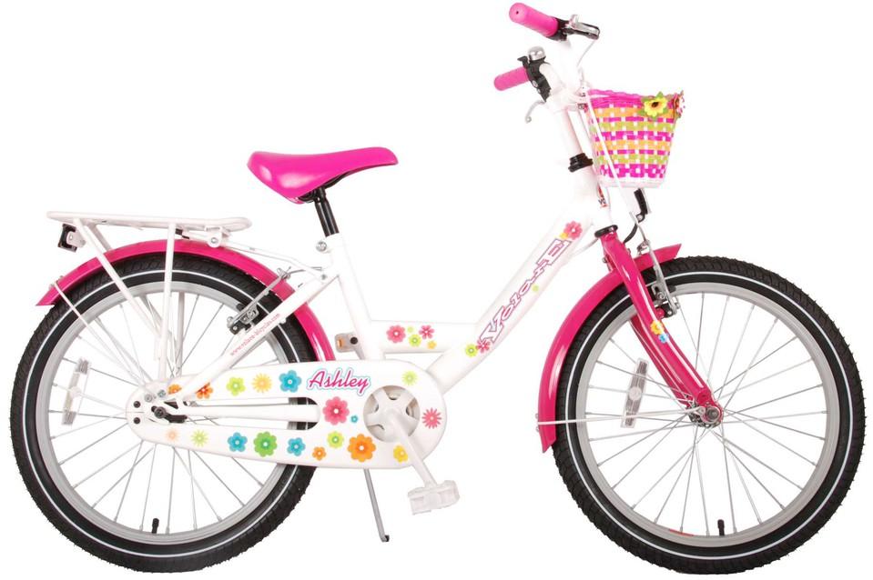 "Bicykel Ashley 20"" bielo-ružový"