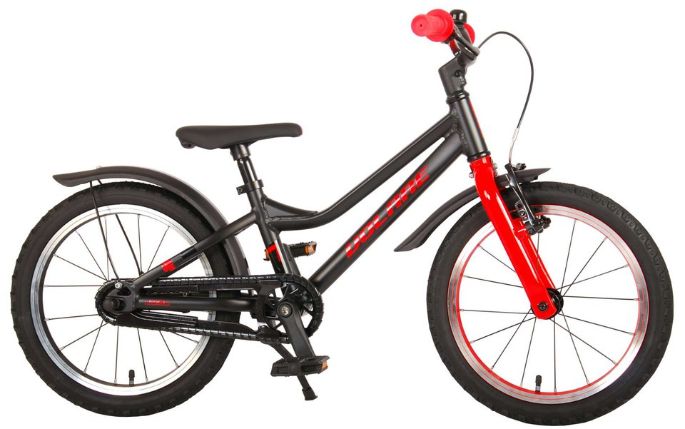 "Bicykel Blaster 16"" čierno-červený"