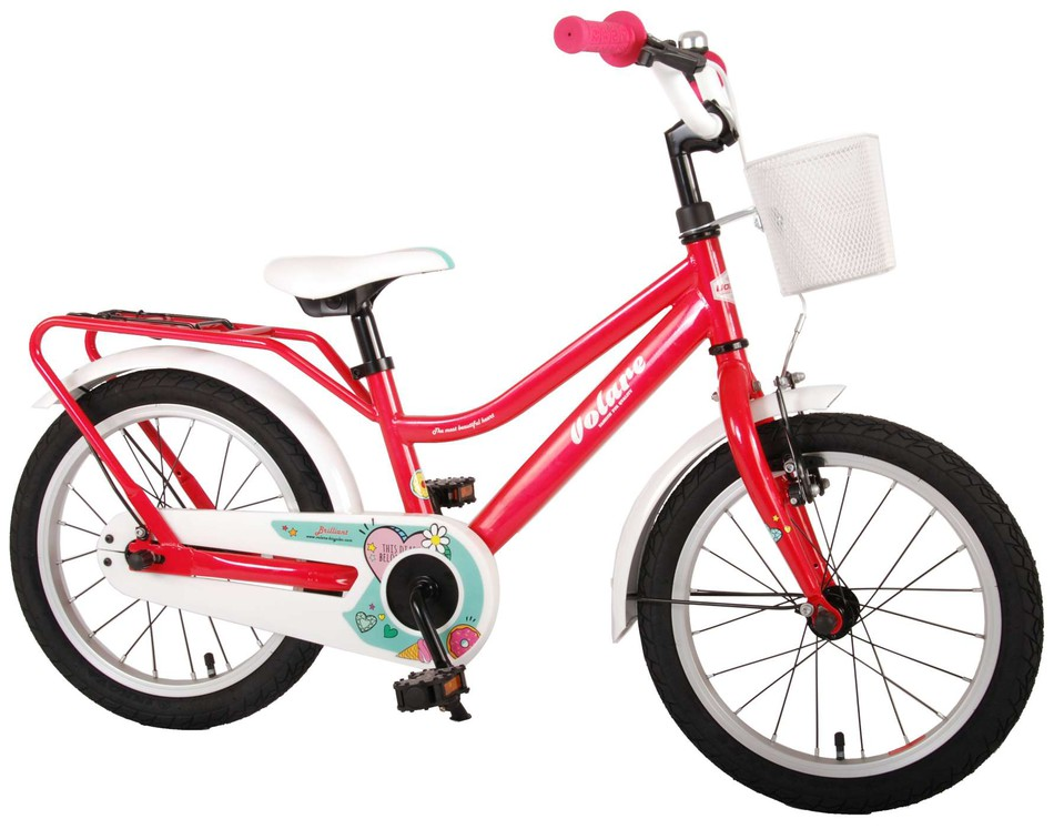 "Bicykel Brilliant ružový 16"""