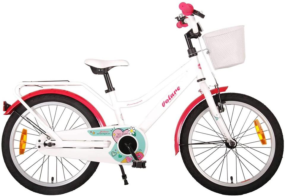 """Bicykel Brilliant biely 18"""""""
