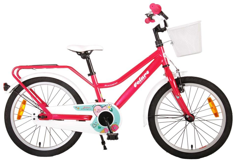 "Bicykel Brilliant ružový 18"""