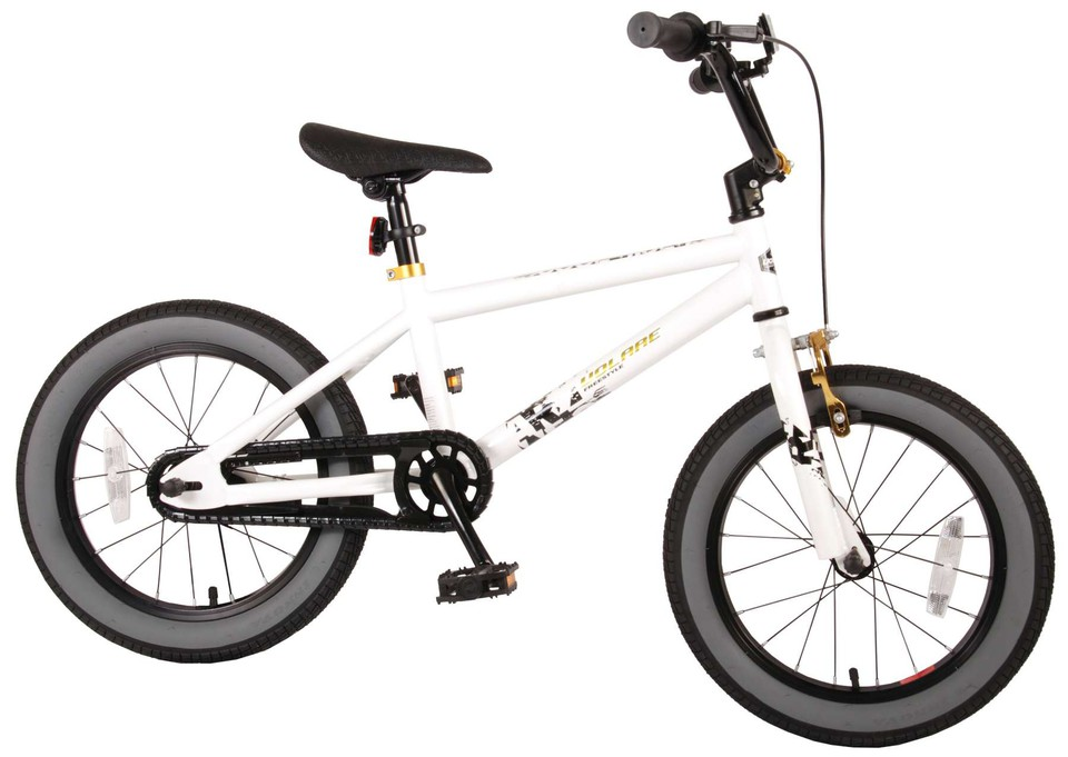 "Bicykel Cool Rider 16"" biely"