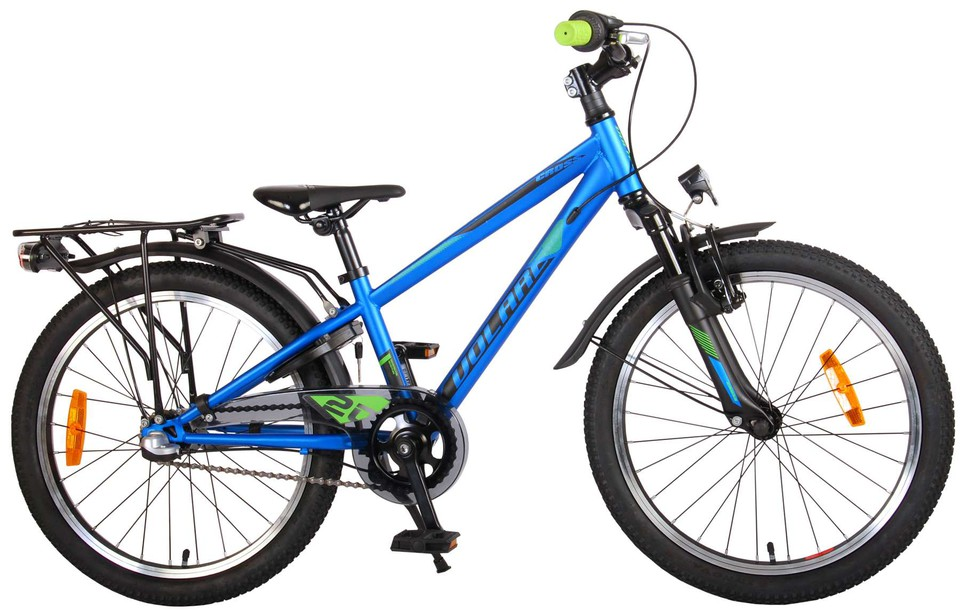 "Bicykel Cross 20"" modrý"