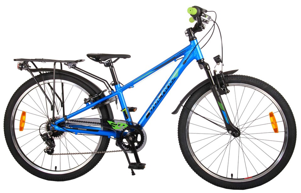 "Bicykel Cross 24"" modrý"