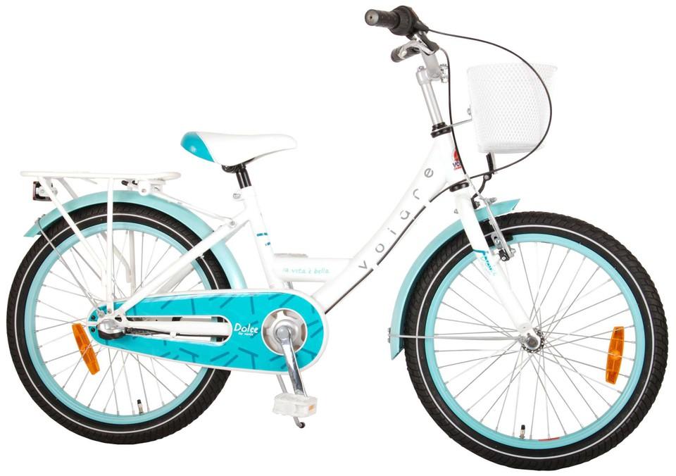 """Bicykel Dolce 20"""" bielo-tyrkysový"""