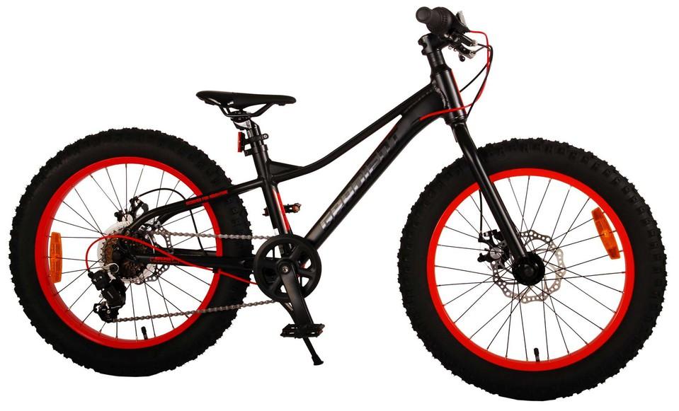 """Bicykel Gradient 20"""" čierny"""