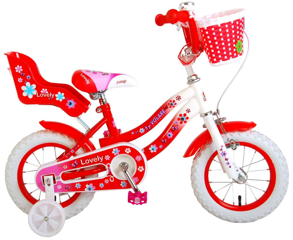 """Bicykel Lovely 12"""" červený"""