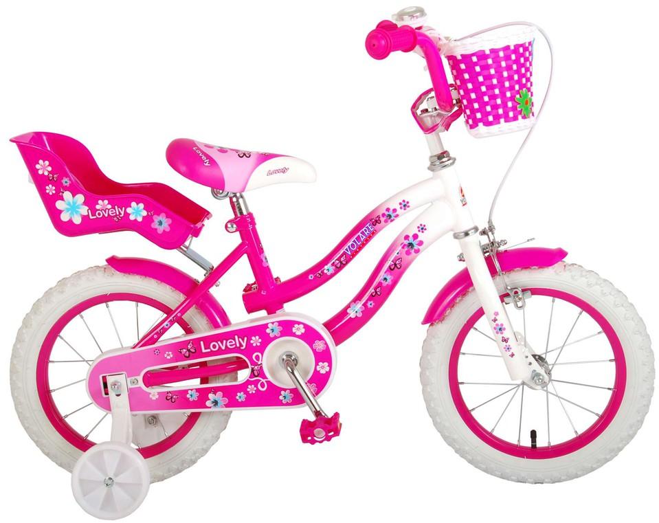 """Bicykel Lovely 14"""" ružový"""