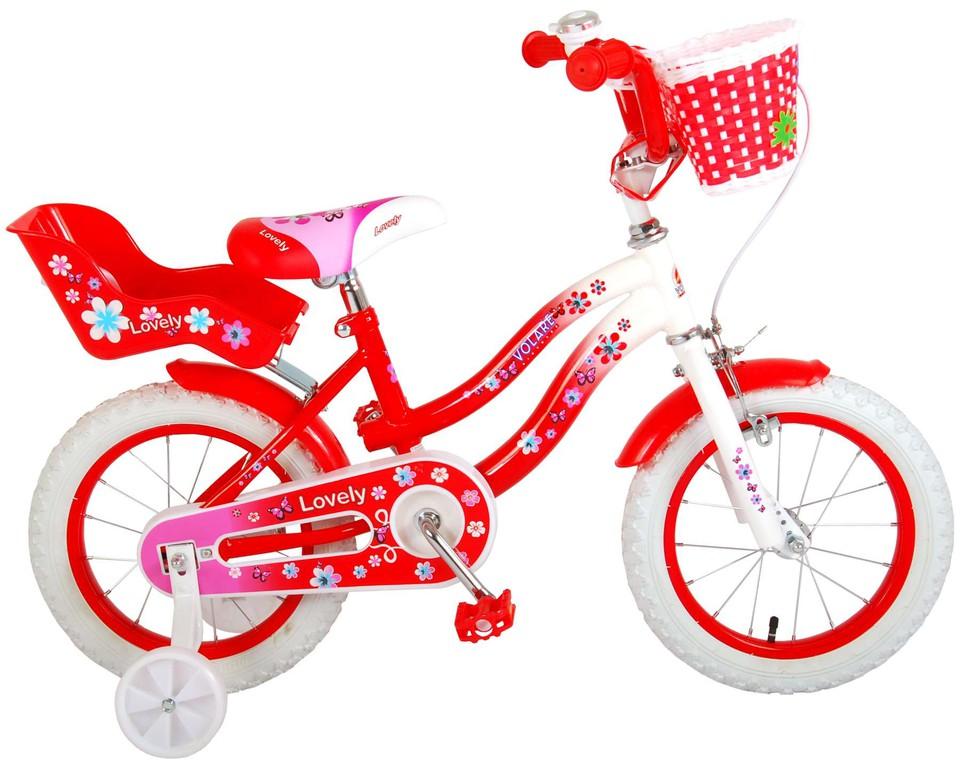 """Bicykel Lovely 14"""" červený"""