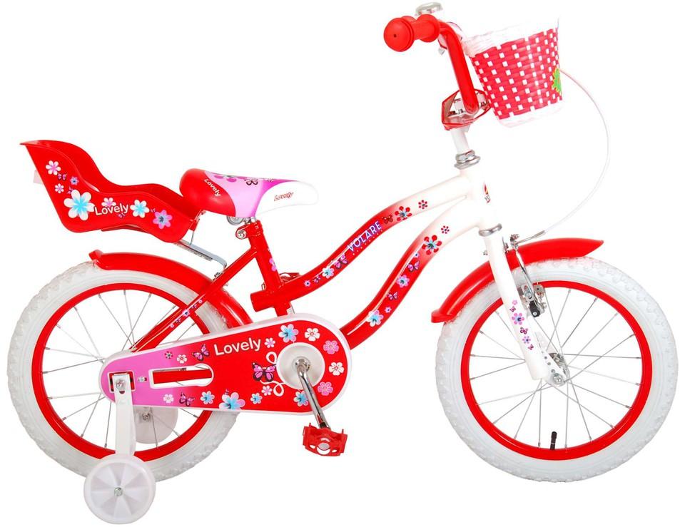 """Bicykel Lovely 16"""" červený"""
