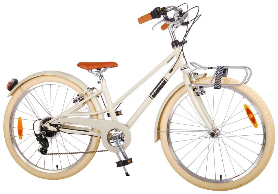 """Bicykel Melody 24"""" béžový"""
