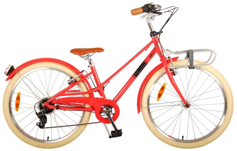 """Bicykel Melody 24"""" červený"""