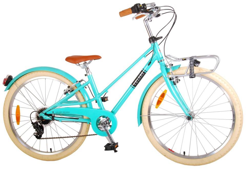 """Bicykel Melody 24"""" tyrkysová"""
