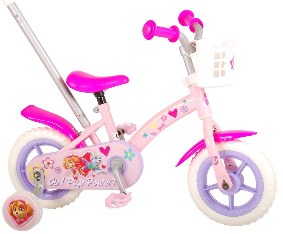 "Bicykel Paw Patrol ružový 10"""
