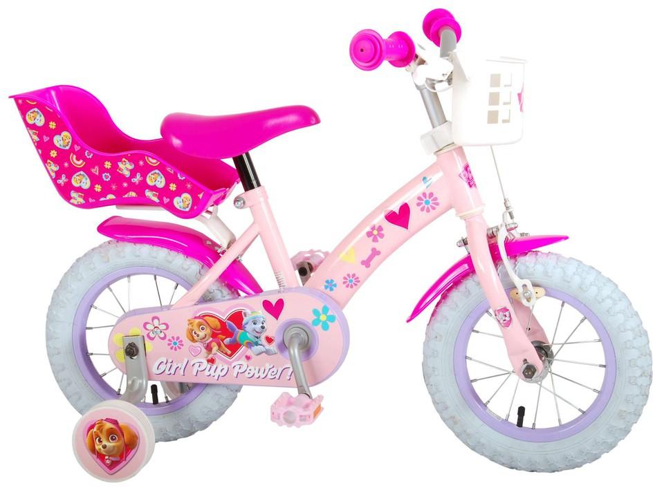 "Bicykel Paw Patrol 12"" ružový"