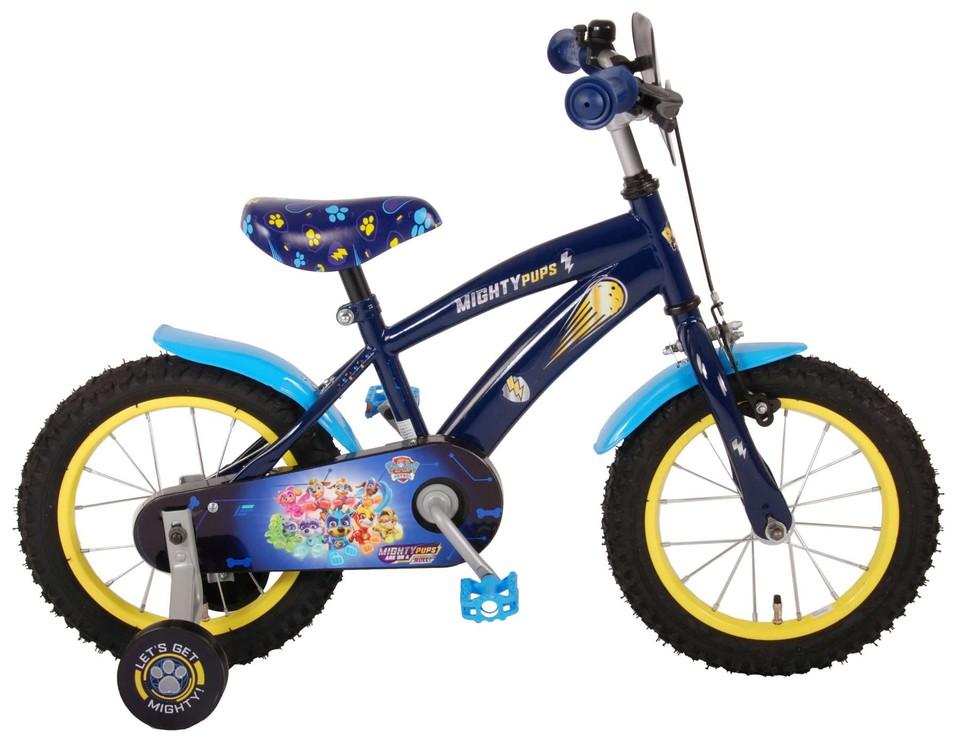"""Bicykel Paw Patrol 14"""" modrý"""