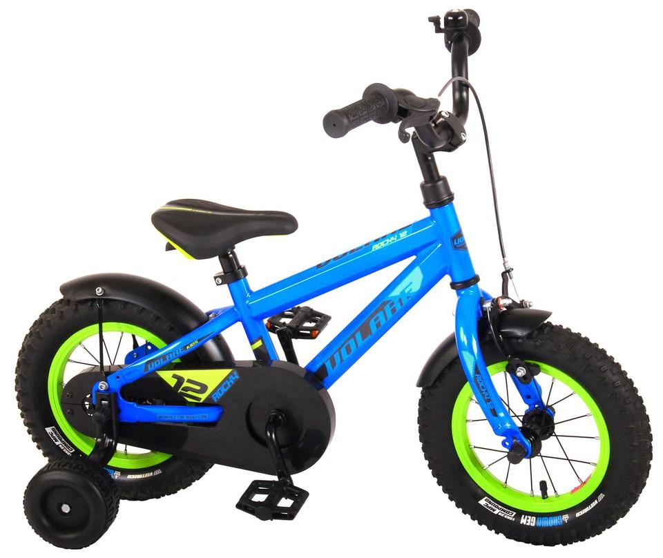 """Bicykel Rocky 12"""" modrý"""