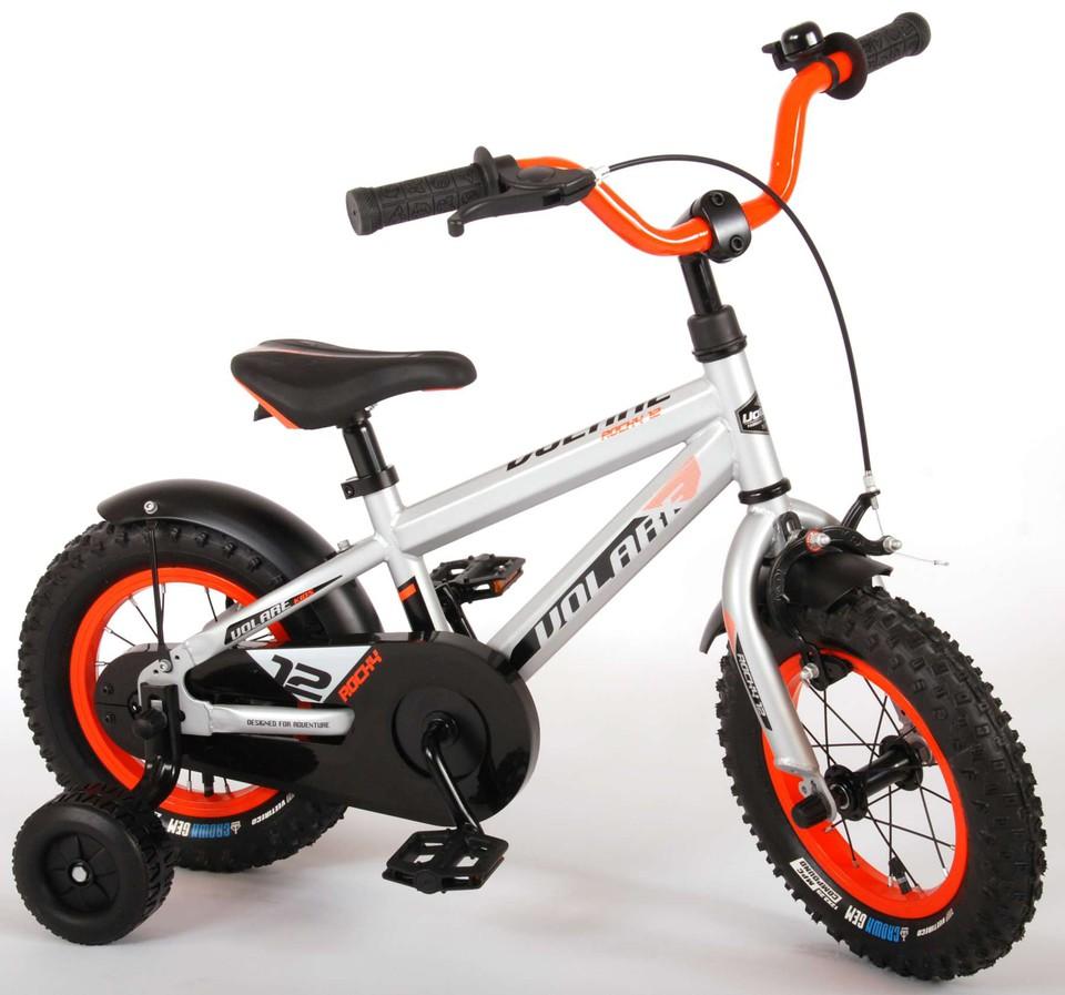 """Bicykel Rocky 12"""" strieborný"""
