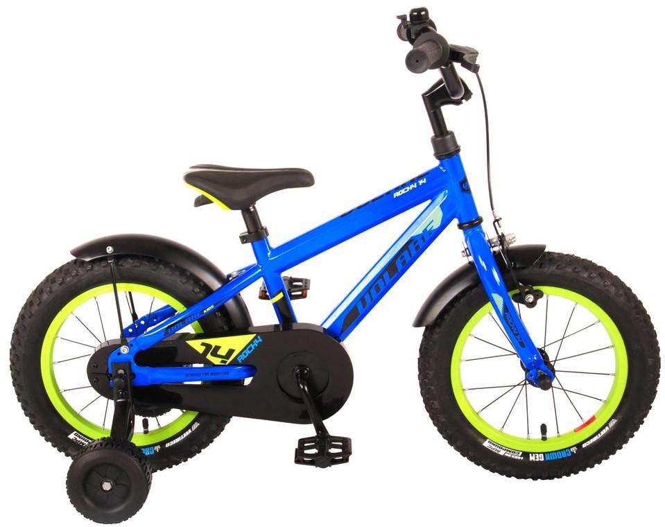 """Bicykel Rocky 14"""" modrý"""