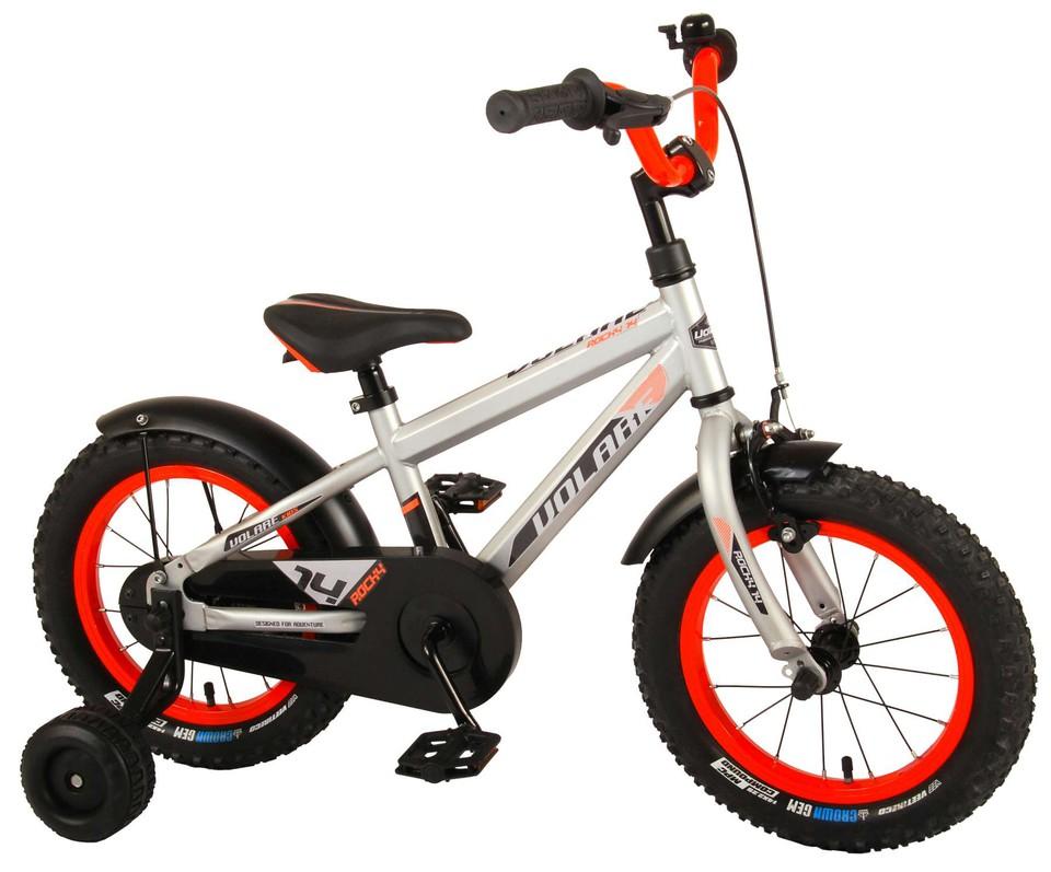 """Bicykel Rocky 14"""" strieborný"""