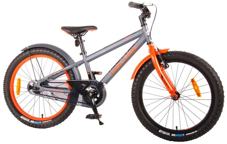 "Bicykel Rocky 20"" šedý"