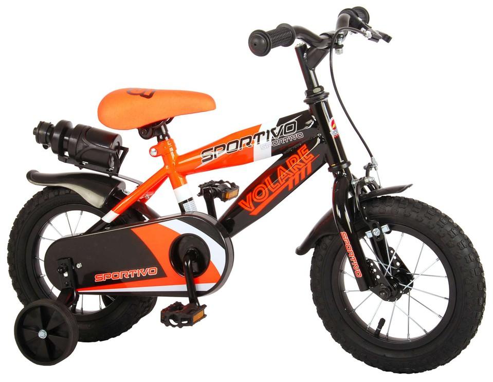 "Bicykel Sportivo 12"" oranžovo-čierny"