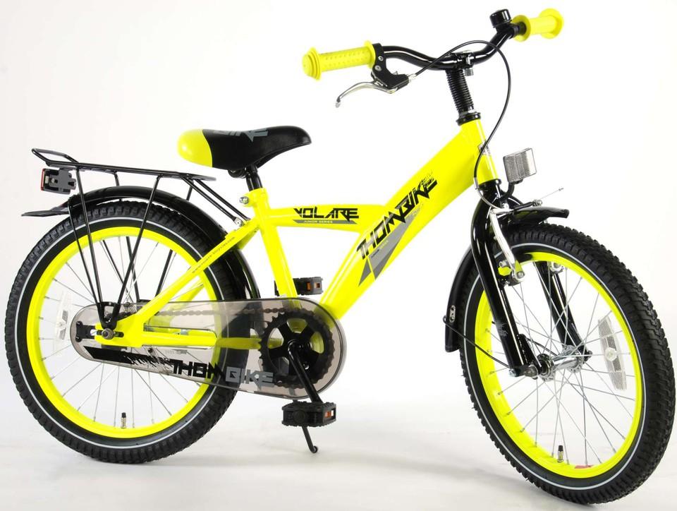 "Bicykel Thombike 18"" žltý"