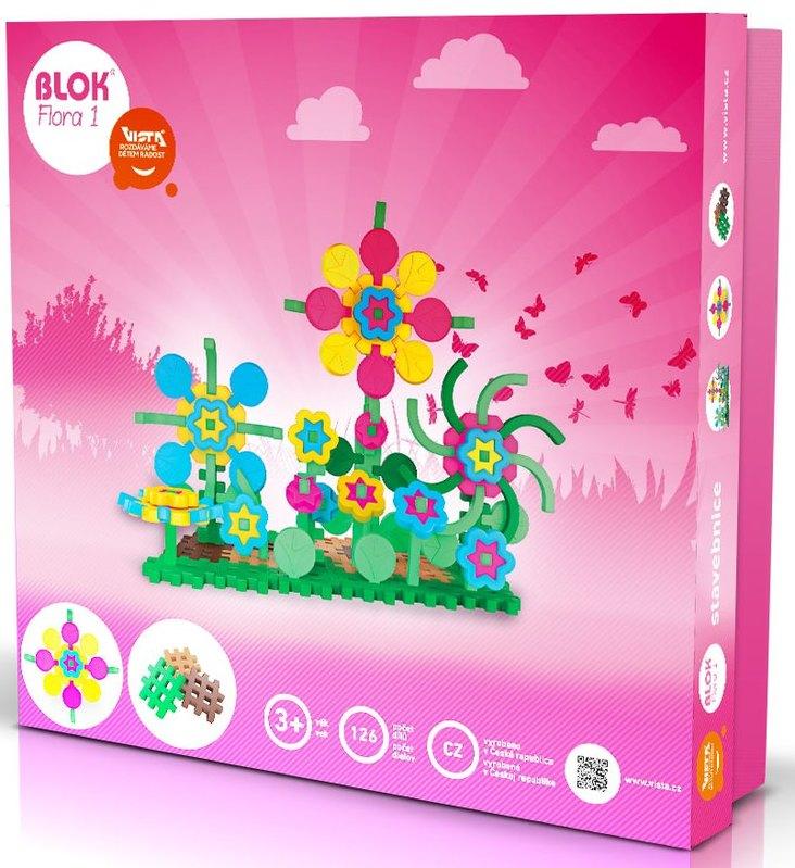 Stavebnica Blok - Flora1, 126 ks