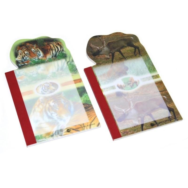 Blok zvieratá 15x8,5cm