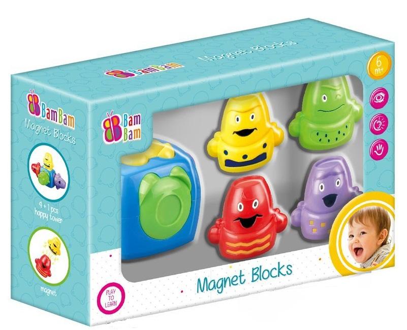BamBam Magnetické bloky